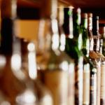 Liquor bottles in a PA bar